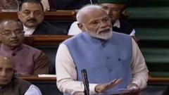 Strong pitch for majority govt, potshots at Rahul by PM in final address to 16th Lok Sabha