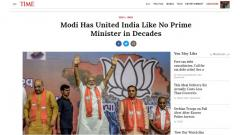 Time magazine in about-face now says 'Modi has united India'