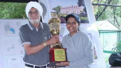 Shradha conquers captains Cup Golf