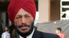 Milkha Singh felicitated at PACE 18
