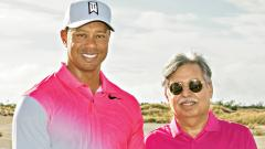 Pawan Munjal, CMD and CEO Hero MotoCorp with Hero World Challenge host, Tiger Woods.