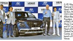 India's first fully connected SUV Hyundai 'Venue' launched