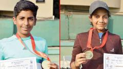 Eshan and Ruma win Mayor's Trophy titles