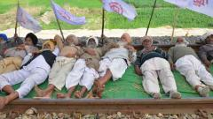 Farmers lift blockade from Amritsar-Delhi rail track
