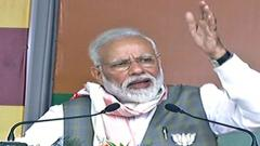 LokSabha 2019: NDA govt committed to Assam Accord: Modi