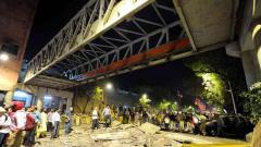 'Kasab bridge' in south Mumbai collapses; 4 dead, 34 injured