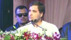 Country can't benefit if brothers fight: Rahul Gandhi