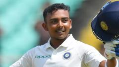 Prithvi Shaw makes dream debut as India cruise to 232/3 at tea