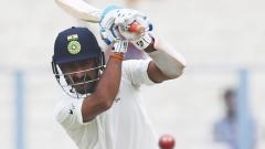 Pujara wages lone battle as India totter at 74/5 at lunch