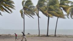 Hurricane Irma makes landfall in Cuba