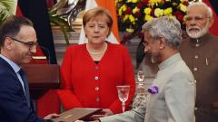 AI, combating terrorism and green mobility among 20 pacts signed between India and Germany