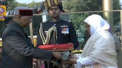 Lance Naik Nazir Ahmed Wani's widow receives Ashoka Chakra