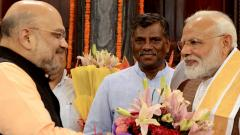 Modi meets Shah ahead of government formation