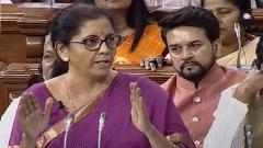 Nirmala Sitharaman only 2nd woman to present Union Budget