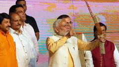 Work for furthering women empowerment and ensuring their dignity: PM at Dussehra celebrations