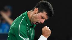 Novak Djokovic returns to training after recovering from COVID-19