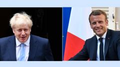 Macron, Johnson set for bruising Brexit talks in Paris