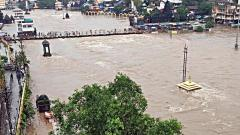Godavari above danger mark, flood-like situation in Nashik