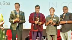 Subhash Ghai, Shaji N Karun and Derek Malcolm spoke about the evolution of Indian cinema in the last 50 years