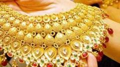 Gold prices rise marginally; silver gains Rs 75