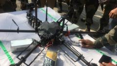 BSF shoots down a Pakistani drone carrying weapons near Jammu border