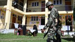 LokSabha 2019: Deserted roads, near-empty booths mark polling in militancy-infested Pulwama and Shopian