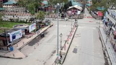 Coronavirus India: Restrictions to contain pandemic continues in Kashmir