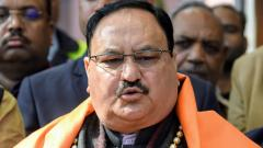 "BJP national president J P Nadda on Sunday dubbed the Maharashtra government led by Uddhav Thackeray as ""unnatural and unrealistic"", saying it has put brakes on the state's development."