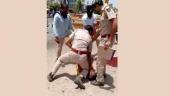 Rajasthan's George Floyd moment: Jodhpur cop presses knee on victim's neck for not wearing mask
