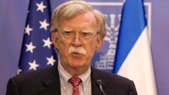 Bolton says Iran silence on US talks offer 'deafening'