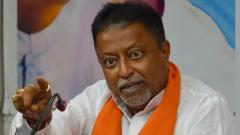 Cornered in Bengal, what did Mukul Roy tell Amit Shah?