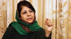 J&K borders should connect South Asia: Mehbooba Mufti