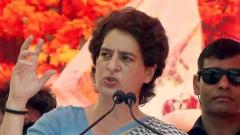 Shun politics of divisiveness, negativity: Priyanka to voters
