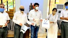 Coronavirus Pune: ARAI develops a special face-shield for COVID-19 warriors