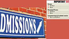 Admissions for tech courses resume