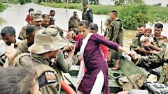 Armed Forces step up efforts in flood-affected regions