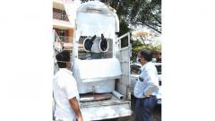 Coronavirus Pune: Collection booth to help collect samples faster