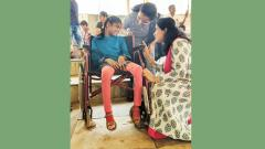 Differently-abled kids from Bal Kalyan Sanstha learn Kathak