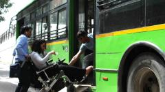 Disabled-friendly buses soon