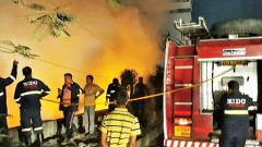 Firemen get accustomed to garbage fires in Hinjawadi