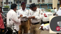 Helmet rule: Cops net Rs 25 lakh fine daily