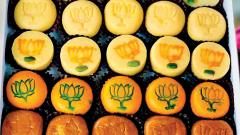 Lotus imprinted sweets' sale down