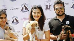 Pet adoption camp organised on R-Day