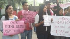 Anti-CAA protests by Assamese in Pune, locals in Thane
