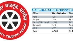 Pune RTO takes action against 4.5K vehicles