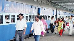 Rail passengers upset with Budget