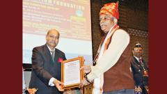 SPPU V-C honoured by TMC