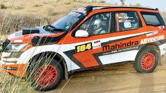 Defending champion Aabhishek, France's Metge surge into the lead in Desert Storm