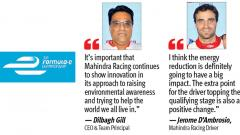 Mahindra Racing pitches in for fanboost tree planting initiative