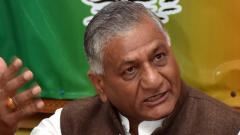 VK Singh: Opposition making propaganda out of India-China ties